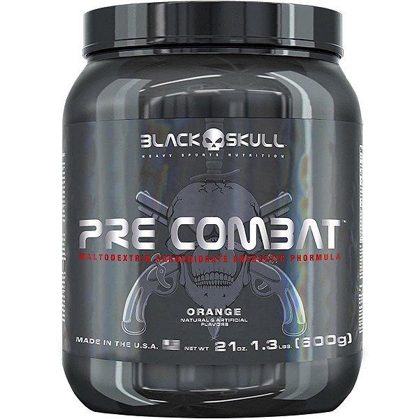 Pré Combat 600g - Black Skull