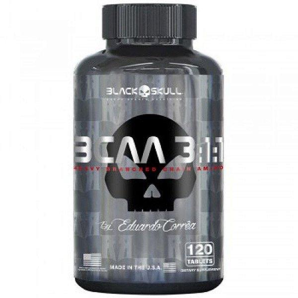 BCAA 3:1:1 120 Tabletes - Black Skull