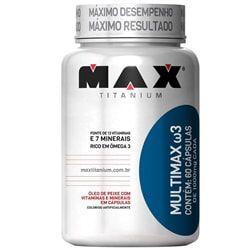Multimax Ômega 3 60 Cápsulas - Max Titanium