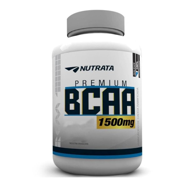BCAA 1,5g 120 Tabletes - Nutrata