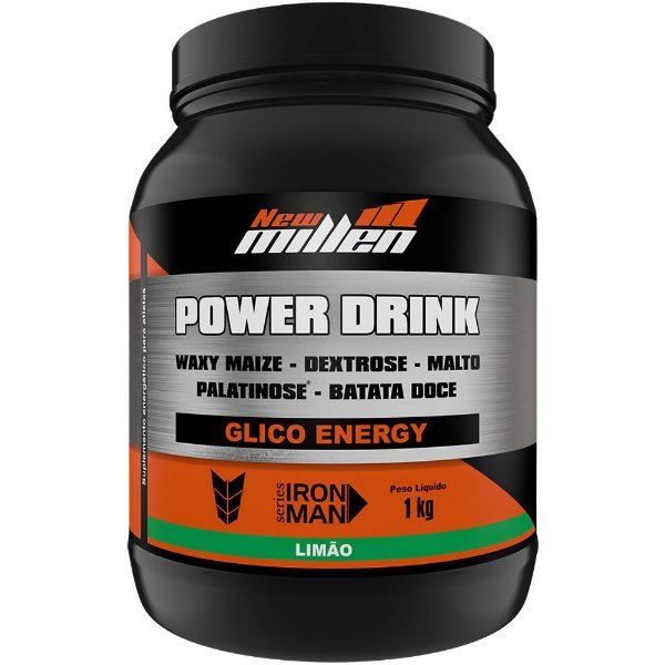 Power Drink 1kg - New Millen - Corpo Fit Suplementos c05b5f72067d5
