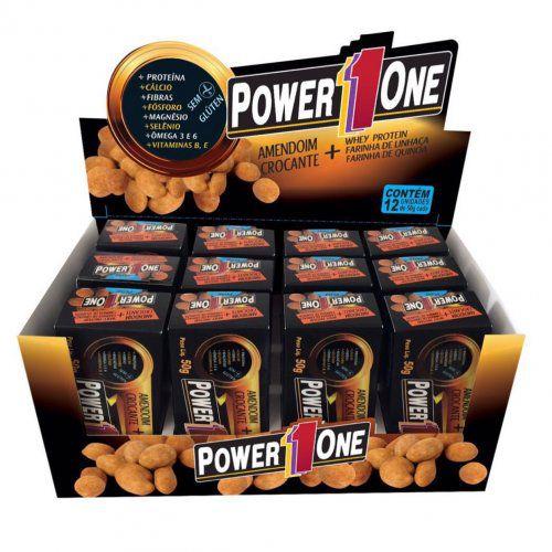 Amendoim Crocante Proteico 12 Displays - Power1One