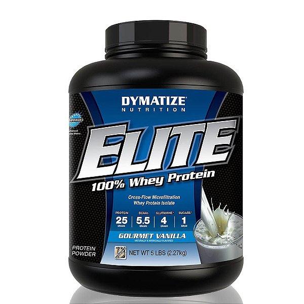 Elite Whey Protein 2,270kg - Dymatize Nutrition