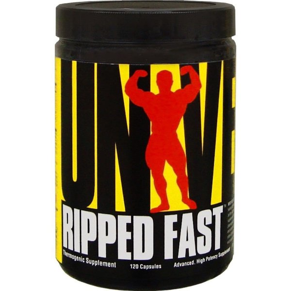 Ripped Fast 120 Cápsulas - Universal Nutrition