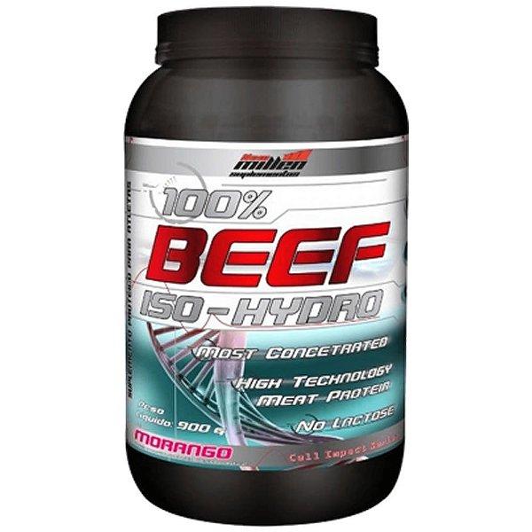 100% Beef Iso Hydro 900g - New Millen