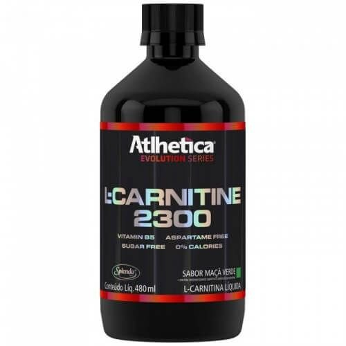 L- Carnitine 2300 480ml - Atlhetica Nutrition