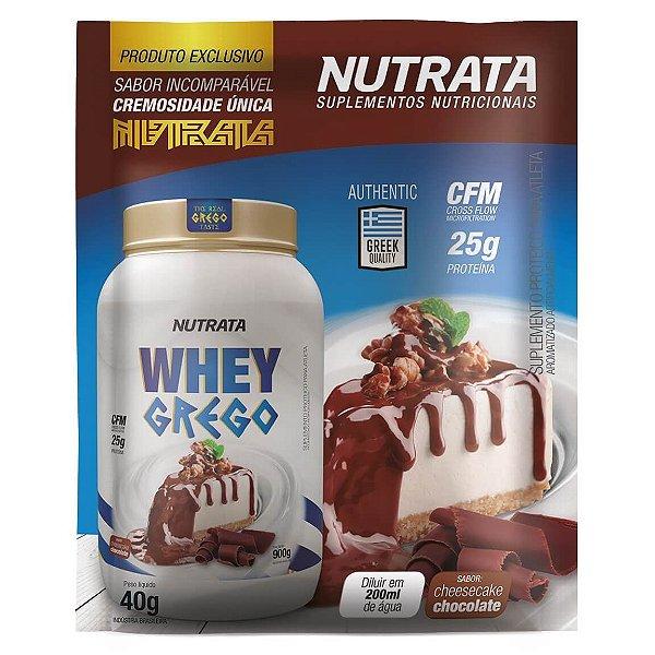 Display Whey Grego sachê 40g - Nutrata