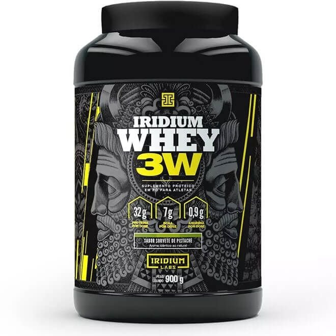 Iridium Whey 3W 900g - Iridium Labs