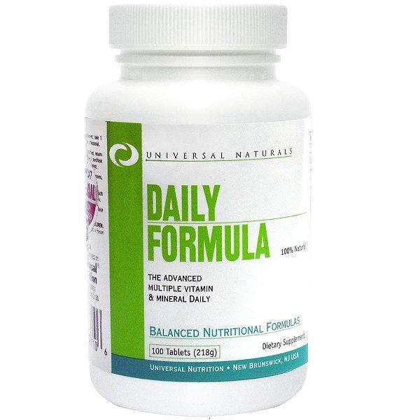 Multivitamínico Daily Formula 100 Tabletes - Universal Nutrition
