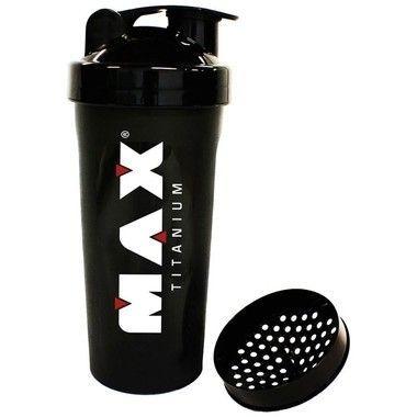 Coqueteleira Fumê 600ml - Max Titanium