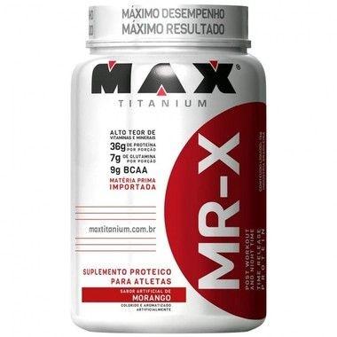 MR-X Time Release Protein 1kg - Max Titanium