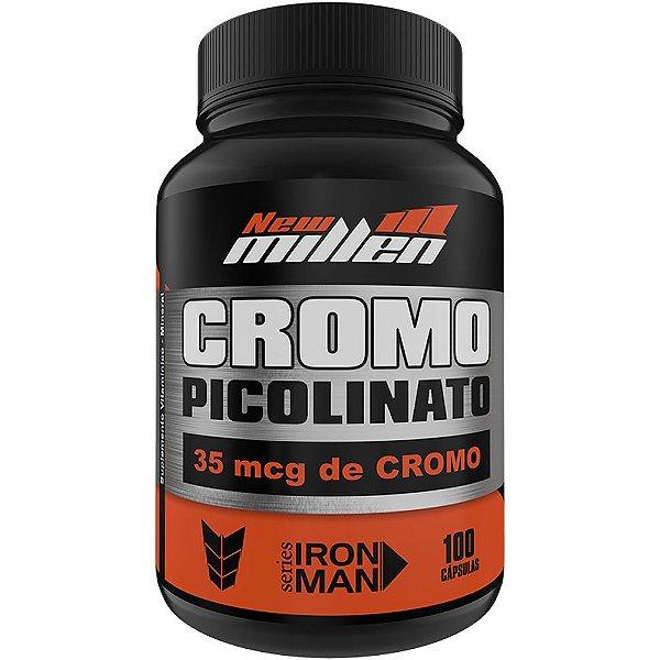 Picolinato de Cromo 100 Cápsulas - New Millen