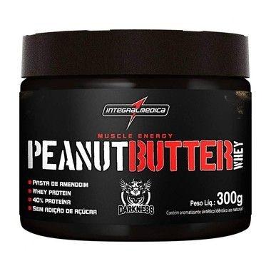 Pasta de Amendoim Proteica Peanut Butter Whey 300g - IntegralMédica