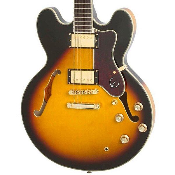Guitarra Semi-Acústica Epiphone Sheraton II Vintage Sunburst