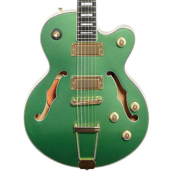 Guitarra Semi-Acústica Epiphone Uptown Kat Es Emerald Green
