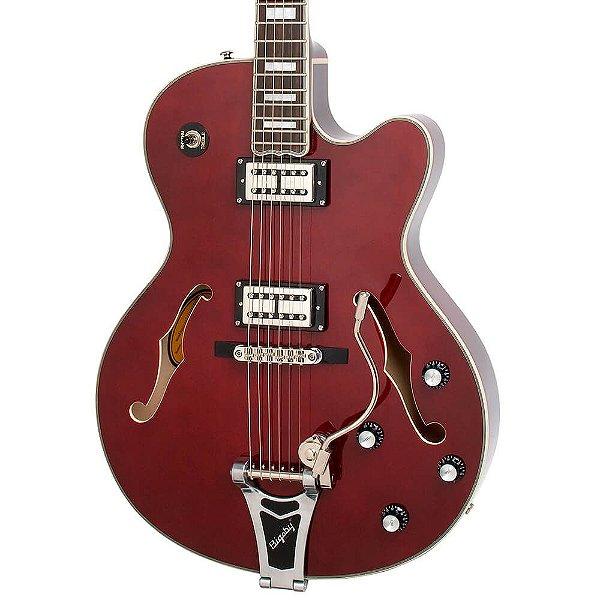 Guitarra Semi-Acústica Epiphone Emperor Swingster Wine Red