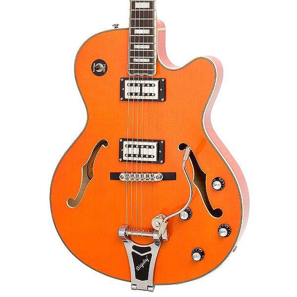 Guitarra Semi-Acústica Epiphone Emperor Swingster Sunrise Orange