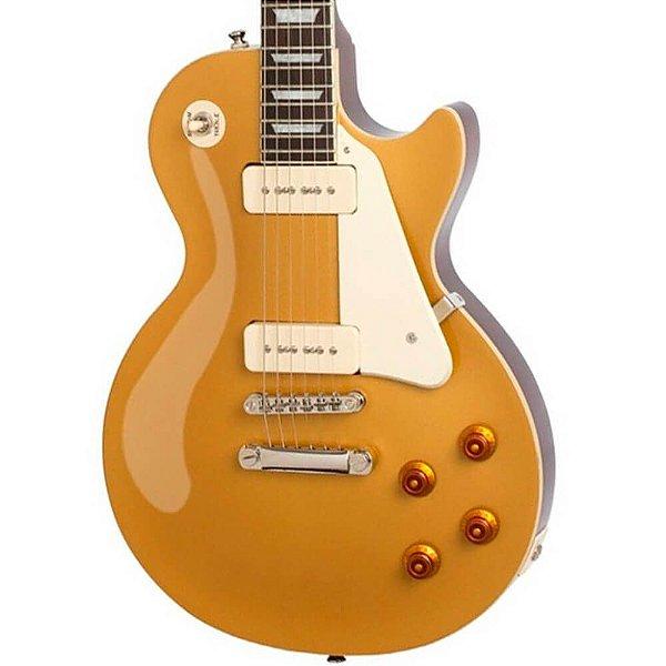 Guitarra Epiphone Les Paul Standard Pro 1956 P90 Gold Top