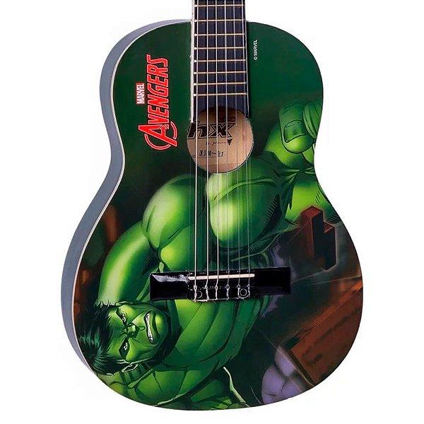 Violão Infantil Acústico PHX VIM-H1 Marvel Hulk Nylon