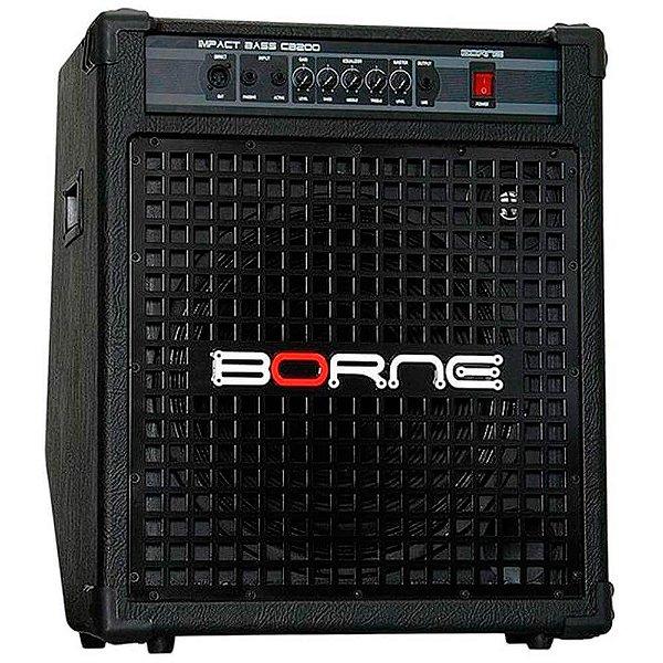 Caixa Amplificada Borne Impact Bass CB200 200w para Baixo