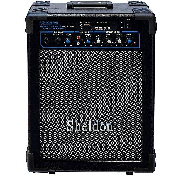 Caixa Acústica Sheldon Max3500 35W Multiuso Bluetooth 110/220V