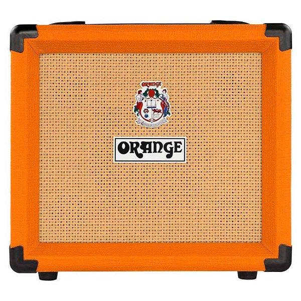 Caixa Amplificada Orange Crush 12W 1x6 para Guitarra
