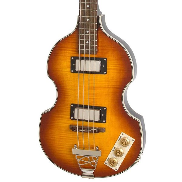 Contrabaixo 4 Cordas Epiphone Viola Bass Vintage Sunburst