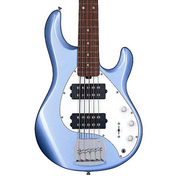 Contrabaixo 5C Music Man Sterling Sub Ray 5 Lake Blue Metallic