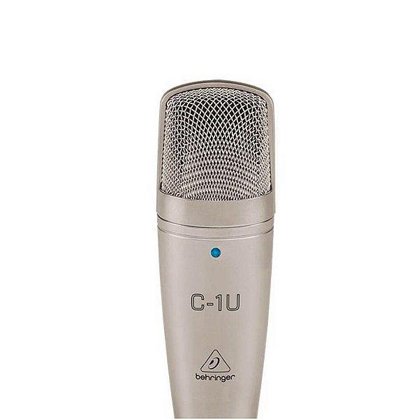 Microfone Condensador Behringer C-1U USB