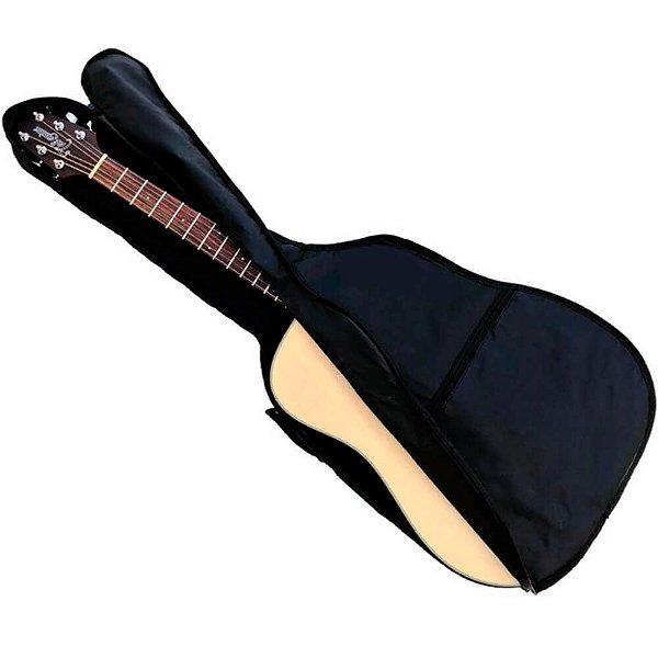 Bag Capa Simples Mellody KA11 para Violão Folk