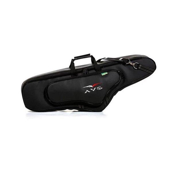 Bag Capa AVS SC011EX Executive Preto para Saxofone Tenor