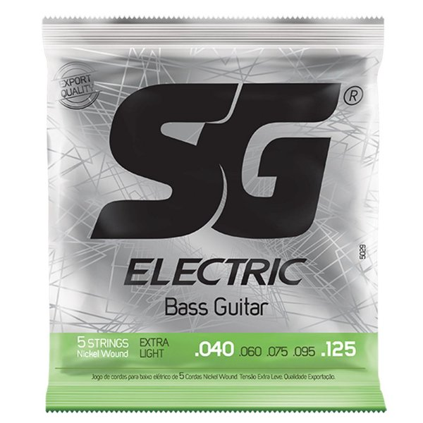 Encordoamento SG Strings .040/.125 Leve para Contrabaixo 5C