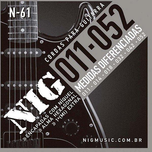 Encordoamento Nig N-61 011/052 para Guitarra