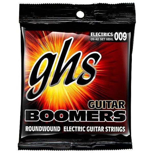 Encordoamento GHS Boomers GBXL 009/042 para Guitarra