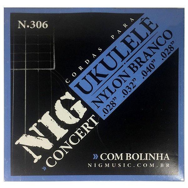 Encordoamento Nig N-306 028/028 para Ukulele Concert