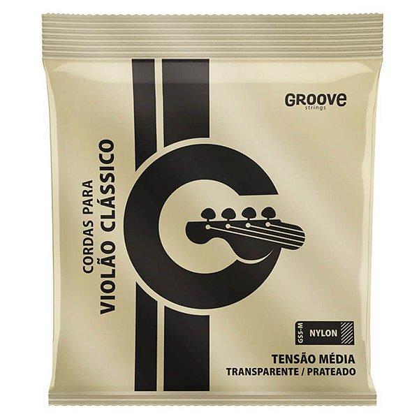 Encordoamento Solez GS5M Groove Tensão Média P/ Violão Nylon