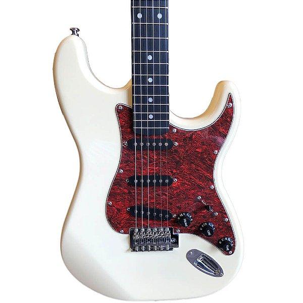 Guitarra Stratocaster Ewa Condor EWR20 Standard Vintage White