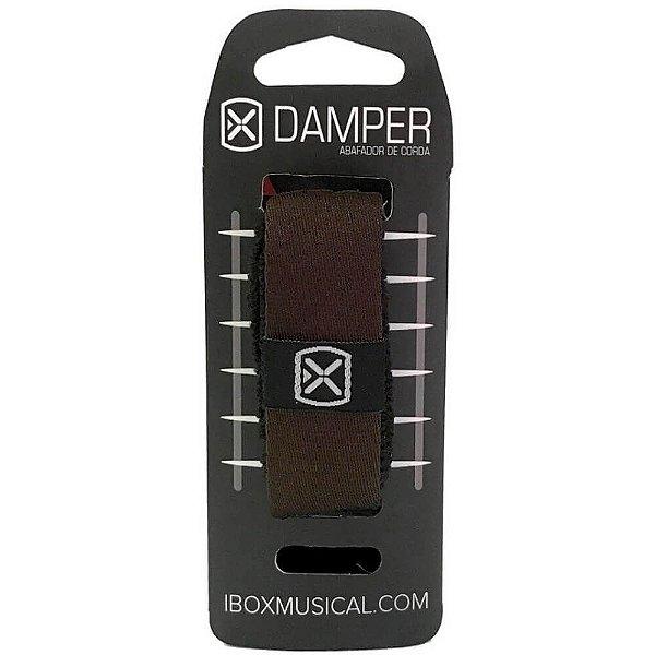 Abafador de Corda Ibox DTMD18 Damper Premium Medium Marrom
