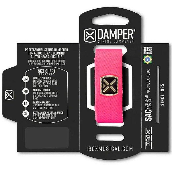 Abafador de Corda Ibox DTSM21 Damper Premium Pequeno Rosa