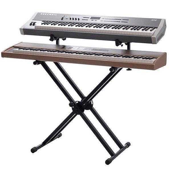 Suporte de Chão Ibox BX2 Duplo para 2 Pianos