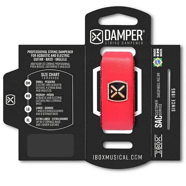 Abafador de Corda Ibox DSSM04 Damper Supreme Pequeno Vermelho