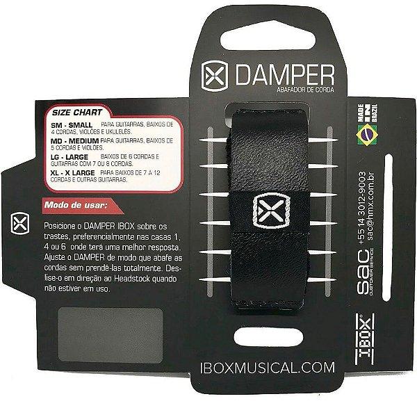 Abafador de Corda Ibox DKSM20 Damper Comfort Pequeno Preto