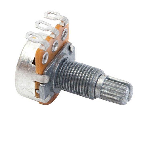 Potenciômetro Dolphin A250K 18/16mm Logarítmico para Tone