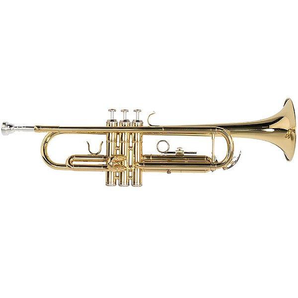 Trompete Vogga VSTR701N Laqueado em Si Bemol