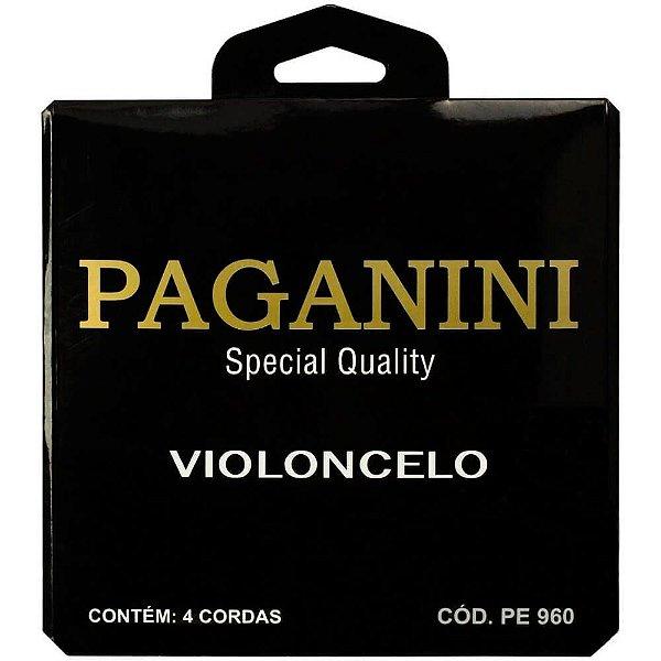 Encordoamento Paganini PE960 para Violoncelo