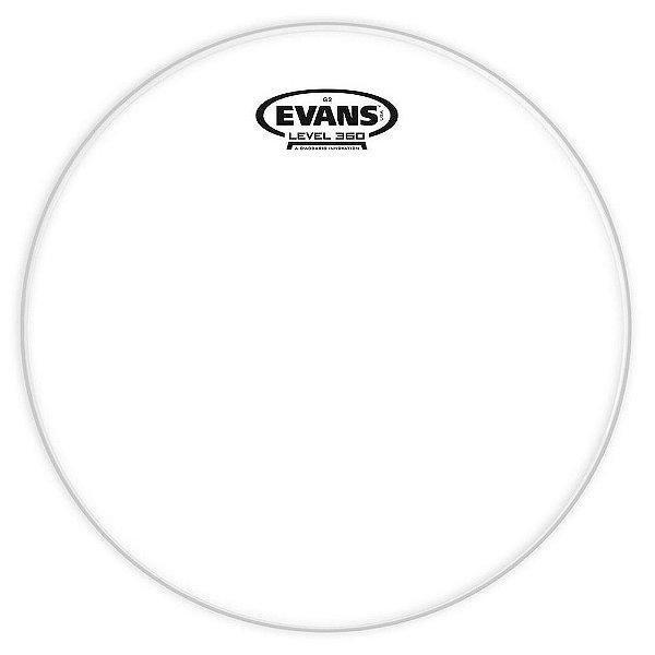 Pele Evans TT14G2 14 Genera G2 Transparente para Tom