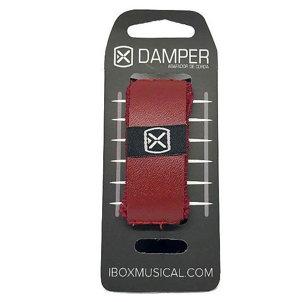 Abafador de Corda Ibox DSMD04 Damper Supreme Medium Vermelho