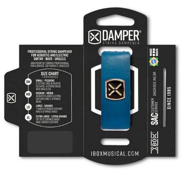 Abafador de Corda Ibox DSMD07 Damper Supreme Medium Azul