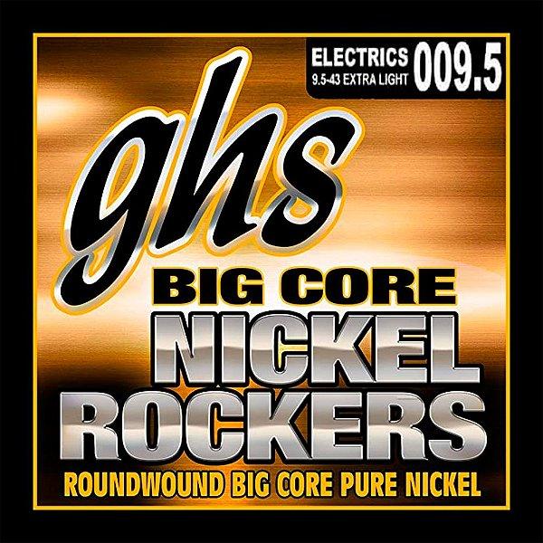 BCXL - ENC GUIT 6C BIG CORE NICKEL ROCKERS 09.5/043 - GHS