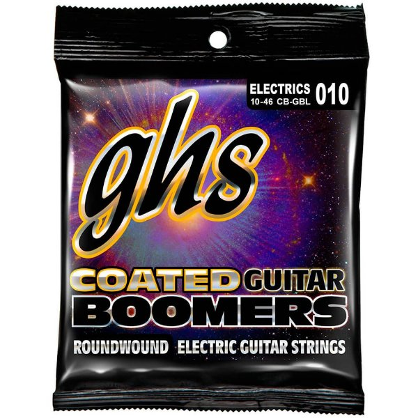 CB-GBL - ENC GUIT 6C COATED BOOMERS 010/046 - GHS